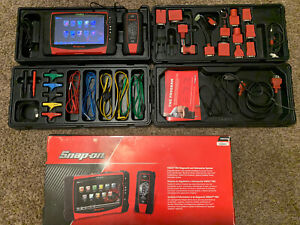 Snap On Verus Pro D10 Eems327 Diagnostic Scan Tool Scanner More