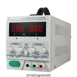 Ps 305dm 30v 5a Variable Linear Dc Power Supply 110v Switching Lab Equipment Use