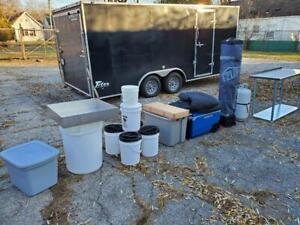 Turnkey 2020 Kettle Corn Business Popcorn Concession Stand W 2020 Trailer