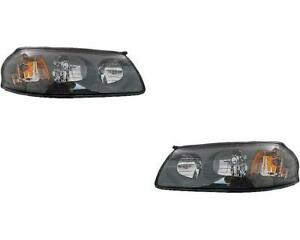 Headlights For Chevy Impala 2000 2001 2002 2003 2004 Pair To 02 05 2004
