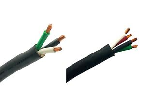 Windynation 8 3 Or 8 4 8 Gauge 8 Awg Soow Cable Wire Cord Portable Power 600v