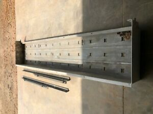 Flatbed Trailer Dunnage Rack aluminum