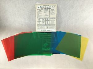 Apollo Color Transparency Film Sheets Red Yellow Blue Green 8 5 X 11 New