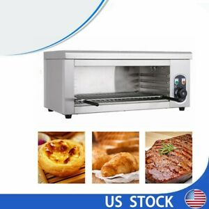 2000w Elcetric Broiler Cheese Melter Salamander Broiler Bbq Grill Adjustable