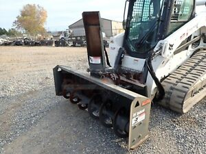 2016 Bobcat Sb200 72 Snowblower For Skid Steers 2 Stage Hyd Chute quick Attach