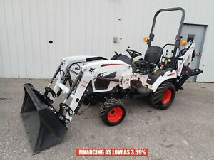 2020 Bobcat Ct1025 Tractor Fl6 Loader Bh66 Backhoe 24 5 Hp Diesel 4x4 Hydro
