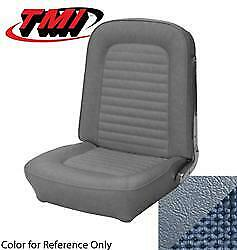 1966 Ford Mustang Coupe Upholstrey Front Bucket Seats Light Blue Set