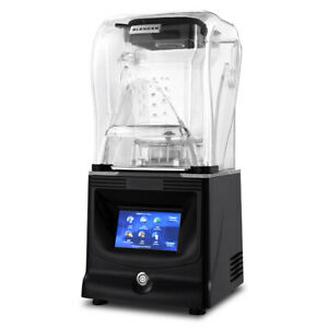 Commercial Soundproof Cover Blender Automatic Juicer Smoothie Ice Maker Mixer