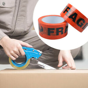 Fragile Carton Moving Sealing Packing Tape Box Shipping Packaging Heavy Duty