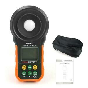 Digital Ms6612 Lcd Lux Light Meter Lux fc Luxmeter Illuminance Measuring Hyelec