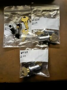 Six New Vending Machine Locks Keyed Alike To 528 Fit Nw A a Oak