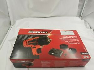 Snap on18v Monsterlithium Cordless Impact Wrench 3 8 Ct8810bk2