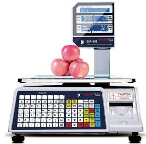 Visiontechshop Dlp 300 Label Printing Scale Pole Display 30 60lbs brand New