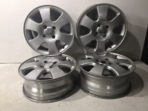 2000 2003 Ford Focus 16 Inch 6 Spoke Alloy Wheel Rim Set Of 4 Factory Oem 16x6