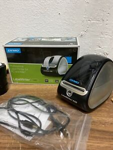 Dymo Labelwriter 450 Turbo Thermal Label Printer Barcode Shipping 10 Rolls