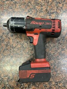 Snap on Ct8850 1 2 Dr 18v Cordless Impact Wrench With Battery No Charger P23