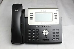 new open Box Yealink Sip t27p 6 line Business Office Lcd Display Ip Phone