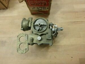 Rebuilt Rochester 2 Barrel 2gc 2 Jet Carburetor For 1961 63 Oldsmobile F85 215