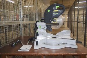Festool Kapex Ks 120 Eb Compound Miter Saw Factory Reconditioned Excellent