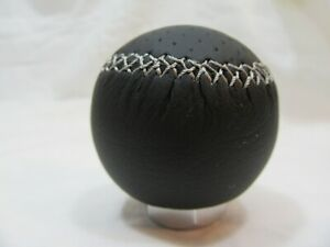 Razo Ra128 Shift Knob Gear Knob Black Leather 240g Weighed Round Ball Type Jdm