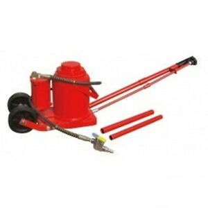 50 Ton Air Operated Powered Power Over Hydraulic Portable Bottle Jack Lift House