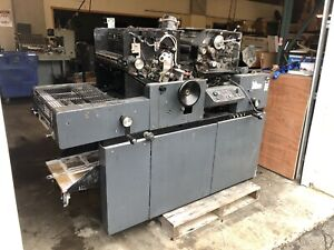 Multi 1650 Printing Press Offset