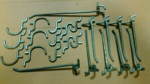 Lot Of pegboard Hooks you Get 23 Pieces Heavy Duty see Photos For Sizes
