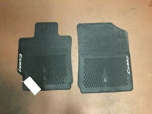 Toyota Camry Camry Hybrid 2010 2pcs Black All Weather Floor Mats Pt908 0310w 02