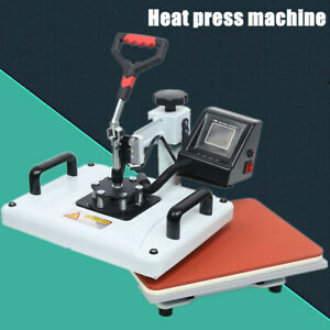 Printing Professional Heat Press 110v 60hz Machine Sublimation T shirt Cups