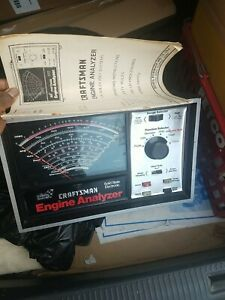 Sears Craftsman Solid State Electronic Engine Analyzer No Cables Included