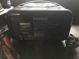 Diehard 12 Volt Fully Automatic Battery Charger Engine Starter 10 2 50 Amp