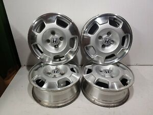 2003 2005 Honda Civic 14 Inch 5 Spoke Alloy Wheel Rim Set Of 4 Factory Oem