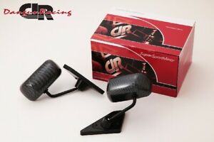 Gt1 Mirror Carbon Look Manual Adjust Lhd For Bmw 3 E46