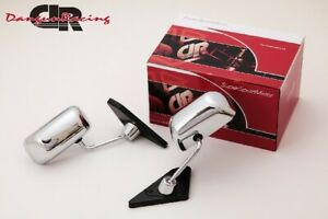 Gt1 Mirror Chrome Manual Adjust Lhd For Bmw 3 E46