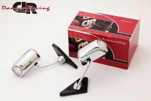Gt1 Mirror Led Chrome Manual Adjust Lhd For Bmw 3 E36