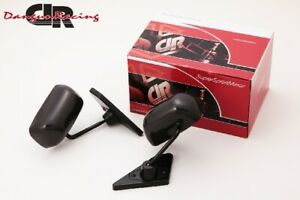 Gt1 Mirror Real Carbon Manual Adjust Lhd For Bmw 3 E46