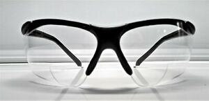 Bifocal G9 r Bifocal Safety reading Glasses Clear Lens 1 5 Diopter Brand New