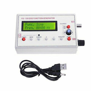 Dds Signal Generator usb Power Adapter Cable Connector 1hz 500khz Set Equipment