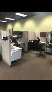 Haworth Cubicles 6 By 6