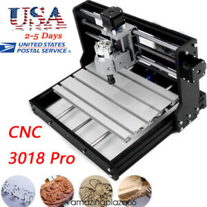Cnc Router Mini Laser Engraver Diy Wood Milling Drill Carving Machine Kit Usa A