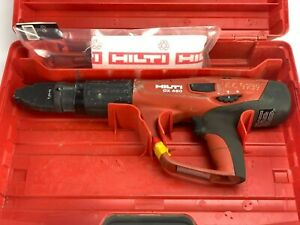 Hilti Dx 460 Concrete Fastener Nailer Powder Actuated Gun And X 460 f8 With Case