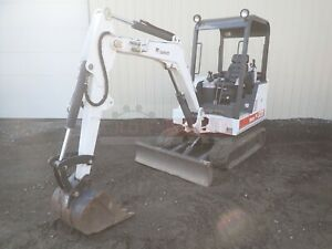 1999 Bobcat 328 Mini Excavator Orops Aux Hyd 2 Speed 1699 Hours 28 Hp Kubota
