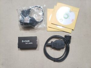 D Can Gt1 Inpa With Bmw Obd 1 To Obd Ii Adapter Inpa With Cd S