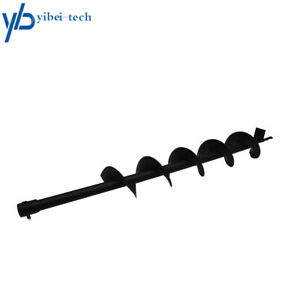 New 4 Earth Auger Drill Bits For Gas Powered Post Fence Hole Digger Us