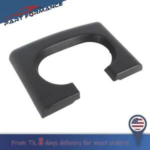Center Console Cup Holder Armrest Pad Replacement Black Fit Ford F150 2004 2014
