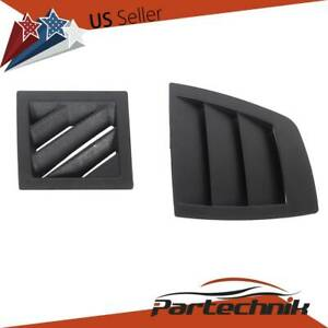 For 2006 2007 Dodge Charger Magnum Left And Right Dash Air Vent Front Cover Set