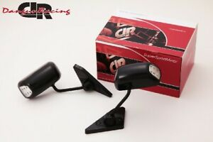 Gt1 Mirror Led Black Manual Adjust Right handle For Bmw3 E90 e91