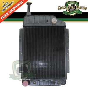 529684m91 New Radiator As Is For Massey Ferguson 1105 1135