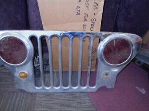Vintage Jeep Grill Grille