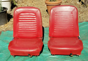 Oem 1964 1965 Ford Mustang Bucket Seat Set I Will Ship